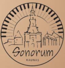 Kaunas Sonorum 2019 held in Kaunas, 2 – 6, December, 2019